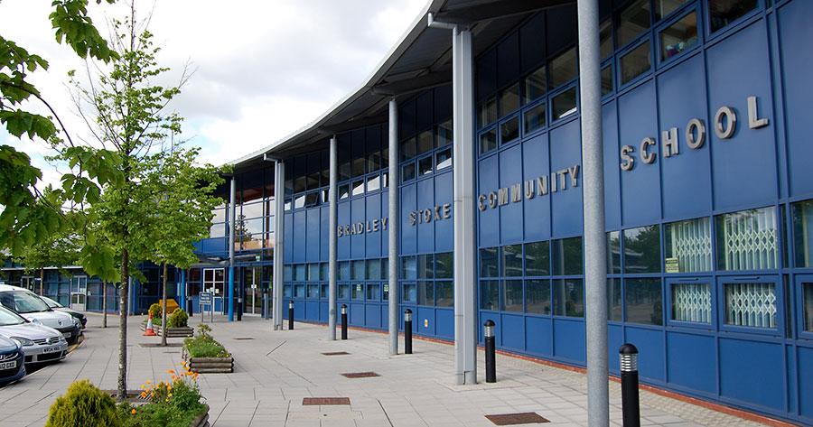 Photo of Bradley Stoke Community School.