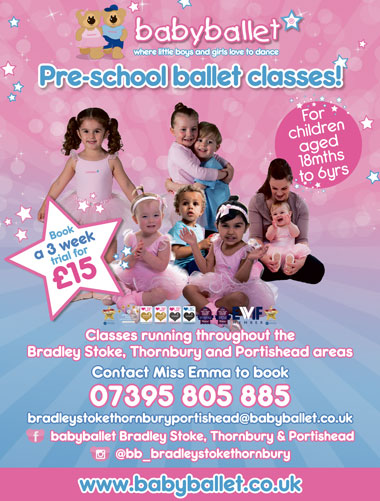 Babyballet Bradley Stoke, Thornbury and Portishead.