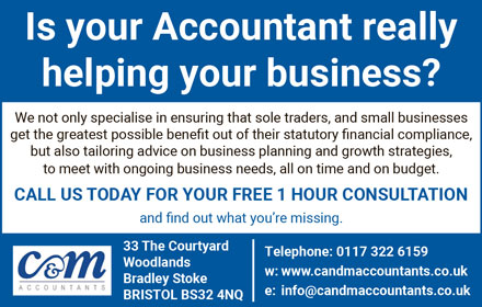 C&M Accountants, Bradley Stoke, Bristol.