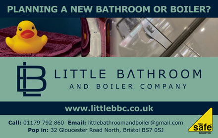 Little Bathroom and Boiler Company, Filton, Bristol.