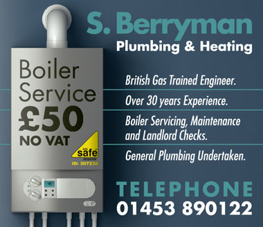 S. Berryman Plumbing & Heating, Bristol & South Glos.