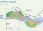 Map showing detail of desilting works.